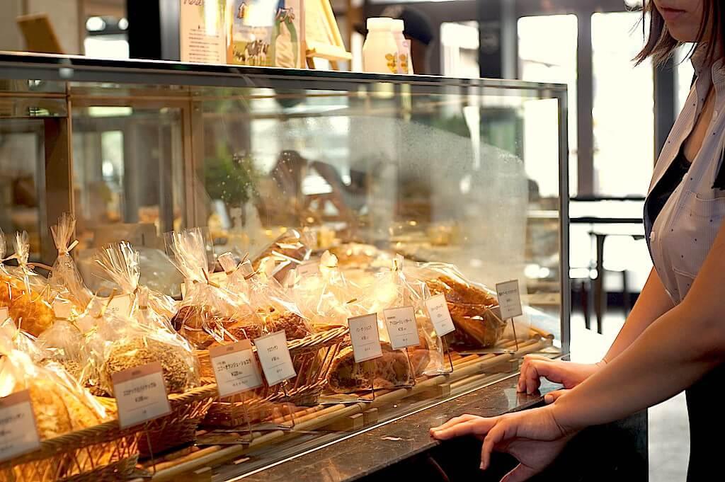パンは販売もしています。お土産にも喜ばれそう!